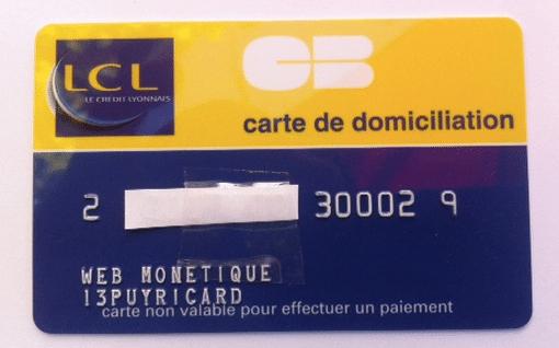 Code de délivrance LCL